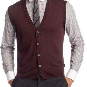 Hugo Boss Merino Wool Vest (Medrick)